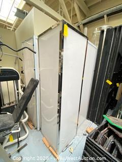 "(10) Light Booths 7' x 25"" x 25"""