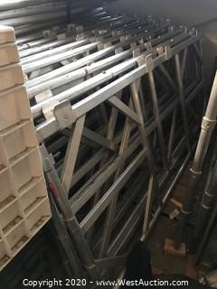 Lot of (10) Stage Frames