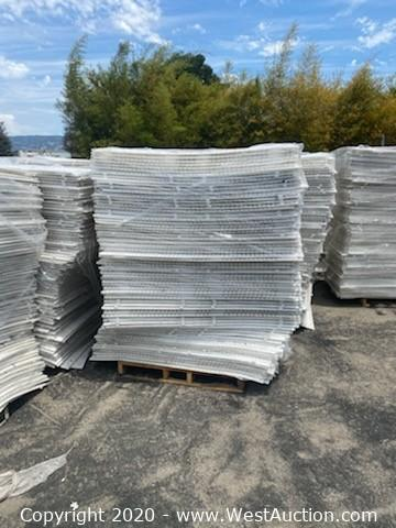 Online Auction of (54) Pallets of PowerBase Shock Pads for Artificial Turf in Oakland, California
