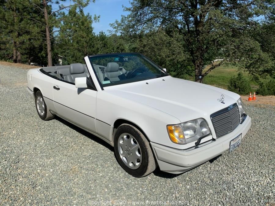 Online Auction of 1995 Mercedes-Benz E-Class For Sale in Sacramento, California