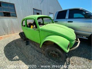 1971 Volkswagen Beetle (No Engine)