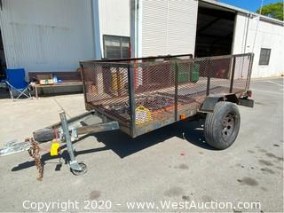 8' Spencer Trailer (Needs New Axle, Not Towable)