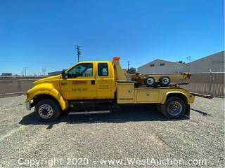 2007 Ford F-650 XLT Super Duty Pro Loader