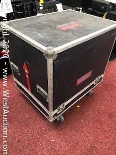 "Road Case on Casters 26""x 34""x 34"""
