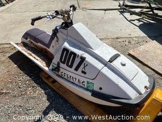 1992 Kawasaki 007x Jet Ski