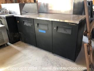 True Refrigerated Prep Station