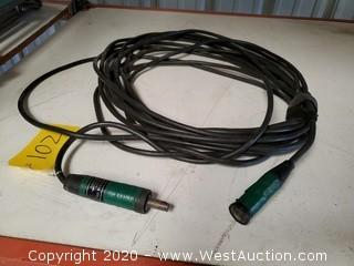 Twist-lock AV Electrical Cable