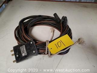 Electrical Cable with Group-5 60A Plug