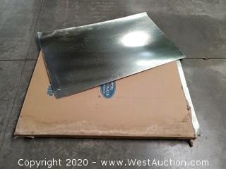 (4) Reflective Cardboard Light Diffusers