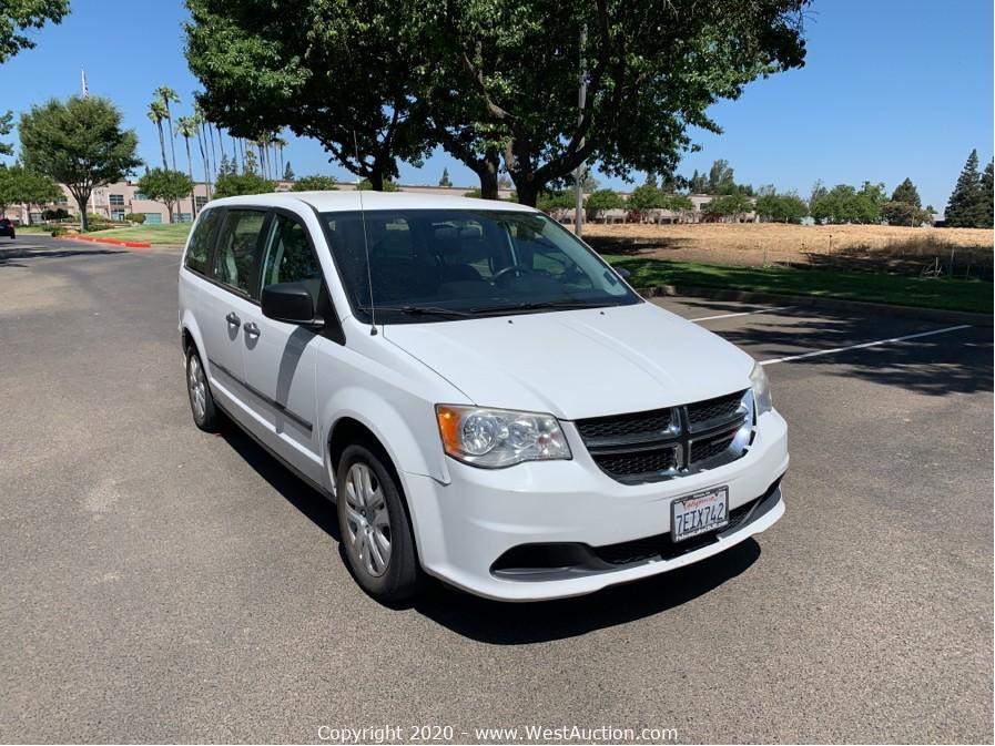 Online Auction of 2013 Dodge Grand Caravan For Sale