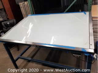 (1) 66w x 45d Light Table