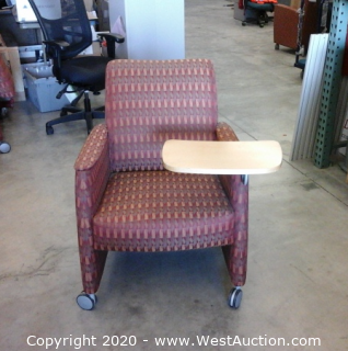 (6) Left Arm Chairs