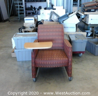 (8) Right Arm Chairs