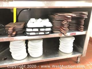 Table Contents; Plates, Trays and Cups