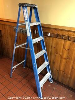Keller 6' Fiberglass Step Ladder