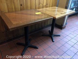 (2) Small Tables