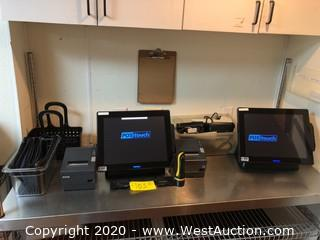 (2) Point of Sale Stations