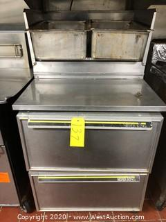 Silver King Under Counter Commercial Refrigerator