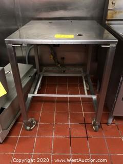 Mobile Prep Table