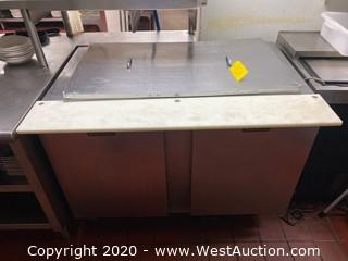 Under Counter Refrigerator with Cutting Board