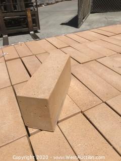 (1) Pallet of Stepstone Tan Sandblast 3'' X 9'' X 4'' Thick Paver