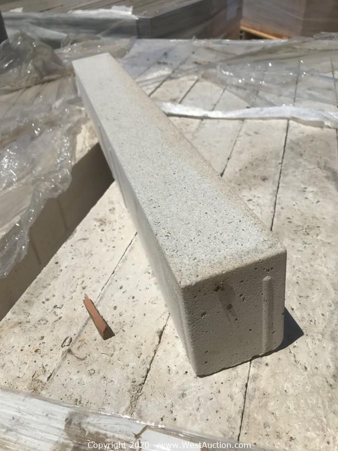 Online Auction of Pavers for Sale in San Jose, CA