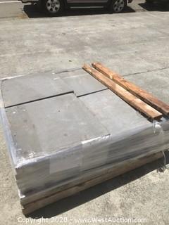 (1) Pallet of Stepstone Charcoal Sandblast 24'' X 24'' X 2'' Thick