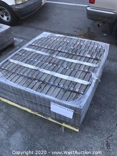 (1) Pallet of Slate Texture Concrete Paver with Color Blend