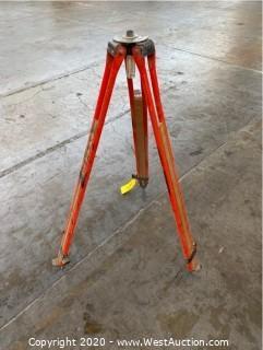Adjustable Surveyor Tripod