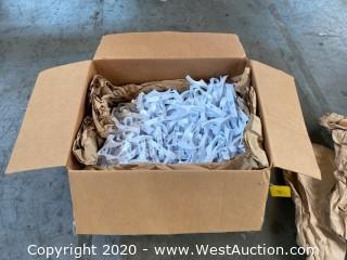 (100+) Wall Mounted Plastic Coat Hooks