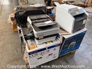 (6) Different Copier/Fax Machines