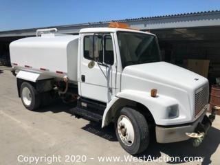 1999 Freightliner FL70 2,000 Gallon Water Truck