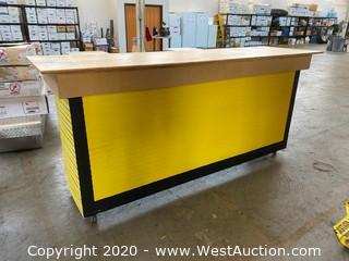 Rolling Counter 8'x28""
