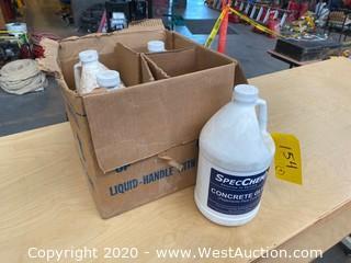 (4) Gallons of SpecChem Concrete Glue