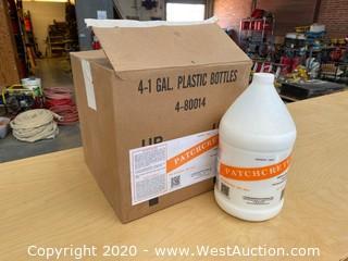 (4) Gallons of Patchcrete Acrylic Latex Liquid
