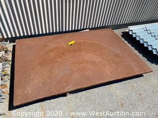 "51""x78""x1"" Trench Plate"