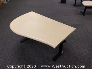 (1) Adjustable Height Sit Stand Desk