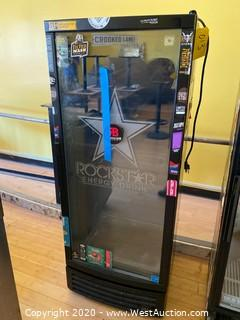 IDW Rockstar Glass Door Beverage Cooler
