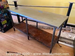Stainless Steel Table 6'x 2' x 3'