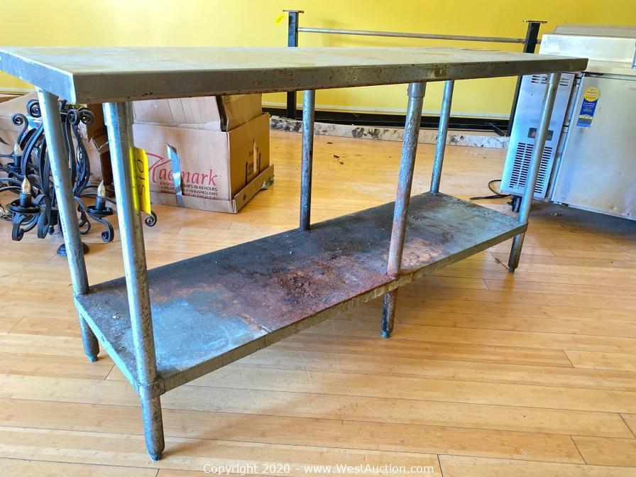 Surplus Auction of Used Restaurant Equipment and Furniture