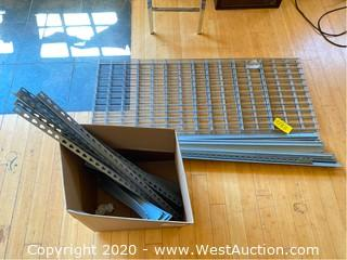 Wire Racking Set - (5) Shelves