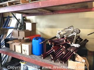 Shelf of Assorted Kitchen Ware, Appliances, Electronics and More