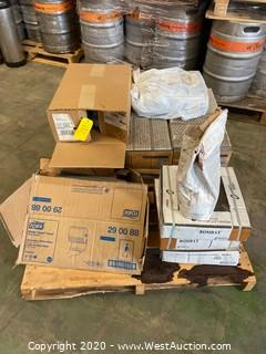 Pallet of Assorted Tile and Grout