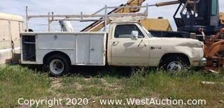 1987 Dodge Ram Utility Truck (registered Junk)