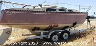 1979 Chrysler Sailboat with Trailer