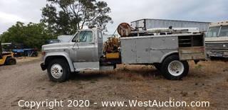 1986 GMC Utility Truck