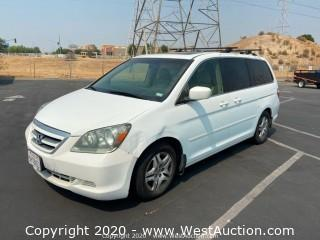 2005 Honda Odyssey Mini Van