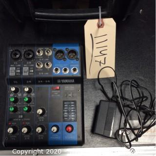 Yamaha MG06 Audio Mixer With Hard Case