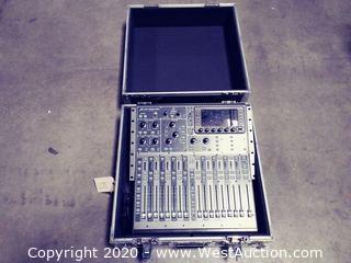 Behringer X32 Producer Digital Audio Mixer in Road Case