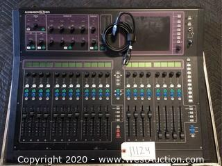 Allen & Heath GLD-80 Digital Audio Mixer in Road Case
